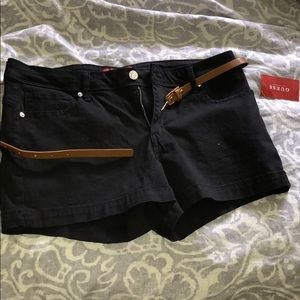 Guess twill black shirt size 30 NWT